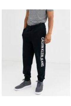 Calvin Klein Jeans - Joggers con logo istituzionale sul lato - Nero(95040030)