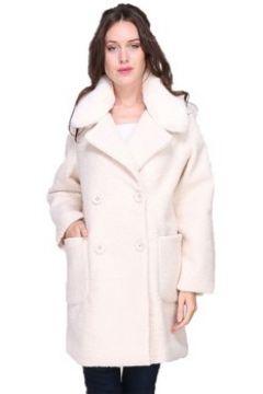Manteau Cendriyon Manteaux Blanc Vêtements Femme(115424783)