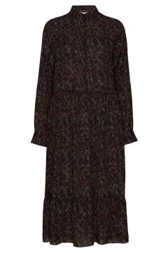 Holland Kleid Knielang Braun MUNTHE(114163725)