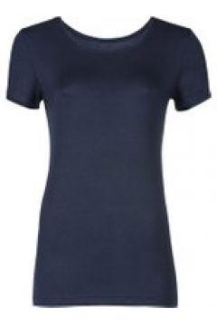 Loungewear Damen T-Shirt Starlet Nachtblau(111521119)