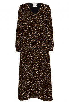 Veneda Maxi Dress Kleid Knielang Schwarz JUST FEMALE(107454509)