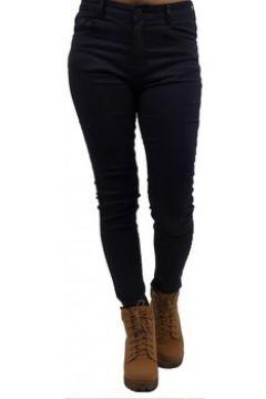 Jeans Primtex Jean bleu marine coupe skinny taille haute ultra stretch(88678726)