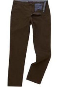 Michael Kors Slim Fit Stretch Cotton Chino - Olive(98316693)