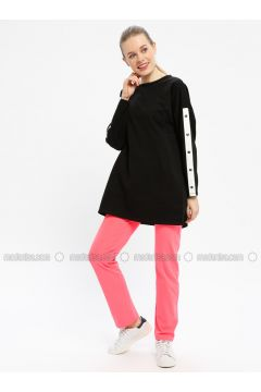 Pink - Cotton - Tracksuit Bottom - Tommy Life(110334249)