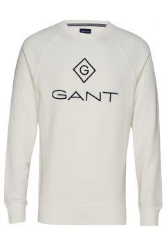 Lock Up C-Neck Sweat Sweat-shirt Pullover Weiß GANT(112084997)