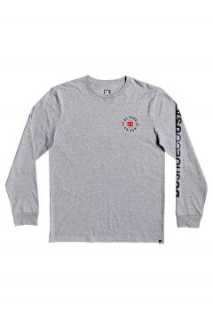 DC Tag Team Long Sleeve T-Shirt grijs(104308235)