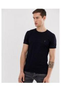 AllSaints - Marineblaues T-Shirt mit Logo - Navy(88963629)