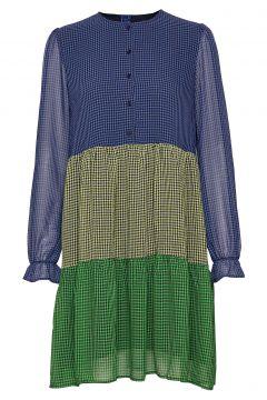 Sophia Dress Kleid Knielang Bunt/gemustert RÉSUMÉ(108838816)