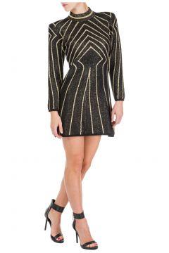 Women's short mini dress long sleeve(116887585)