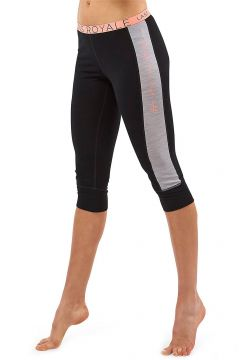 Mons Royale Merino Alagna 3/4 Leggings Tech Pants black/grey marl(111775979)