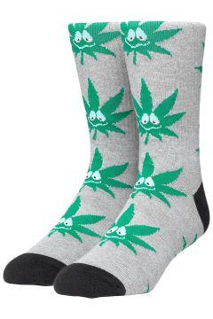 HUF Green Buddy 3Pl Socks grijs(114622834)