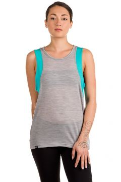 Mons Royale Merino Kasey Relaxed Mesh Tank Top blauw(85170229)