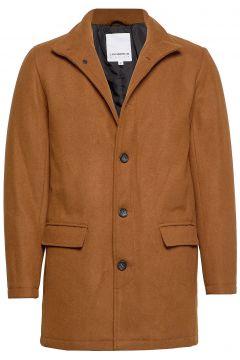 Coat W Stand Up Collar Trenchcoat Mantel Braun LINDBERGH(114156570)