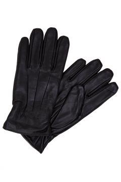 JACK & JONES Lädersydda Handskar Man Svart(92522248)