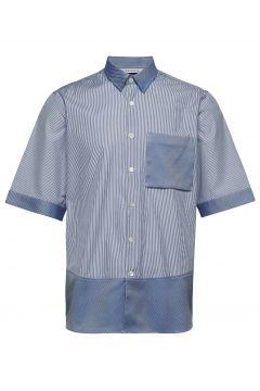 Boxy Shirt Short Sleeve Kurzärmliges Hemd Blau HOLZWEILER(114151565)