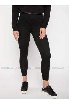 Black - Legging - DeFacto(110325654)