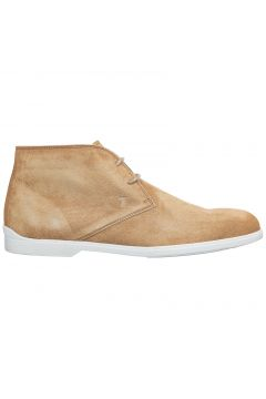 Men's suede desert boots lace up ankle boots(116886729)