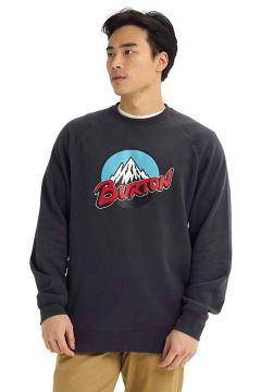 Burton Retro Mtn Crew Sweater grijs(94060324)