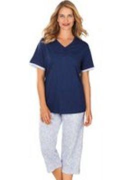 Bomullspyjamas med kort ärm(112297537)
