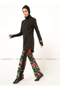 Black - Multi - Tracksuit Bottom - FD SPORTS(110335468)