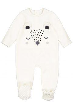 Pijama con pies de 1 pieza de terciopelo, 0 meses - 3 años(108523037)