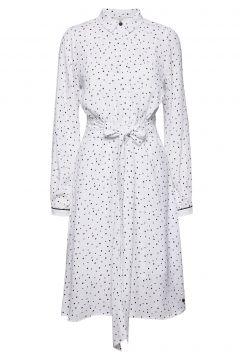 Nuailish Dress Kleid Knielang Weiß NÜMPH(116470498)