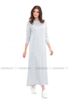 Gray - Dresses - LC WAIKIKI(110341610)