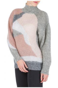 Women's jumper sweater turtle neck(117014797)