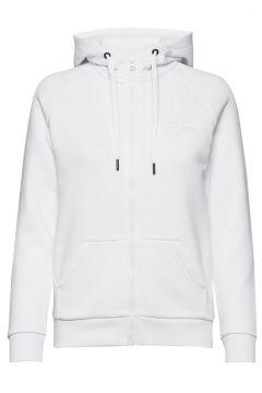 W Original Zip Hood Hoodie Pullover Weiß PEAK PERFORMANCE(114802005)
