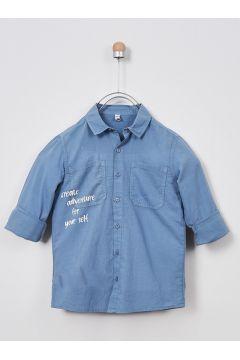 Chemises Pour Garçon Panço Bleu(109327850)