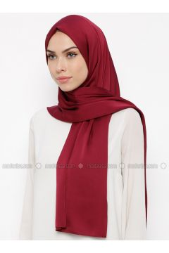 Cherry - Plain - Shawl - Qubbe(110317386)