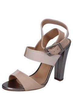 Sandales Sergio Rossi sandales beige cuir BZ16(88470168)