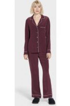 UGG Raven Set Silk Pyjamas pour Femmes en Port, taille Grande(112239266)