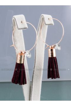 Brown - Earring - Forivia Accessories(110334016)