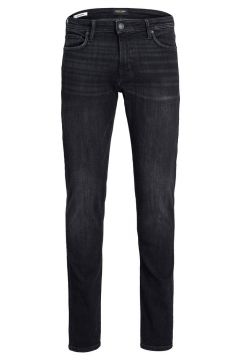 JACK & JONES Glenn Felix Am 135 50sps Slim Fit-jeans Man Svart(116214822)
