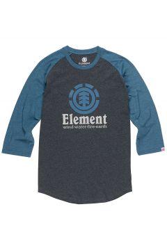 Element Vertical Raglan Long Sleeve T-Shirt grijs(108875360)