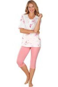 Exklusiv pyjamas med spets och kort ärm(112297472)