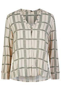 Y.A.S Yasflocha Overhemd Dames White(114598507)