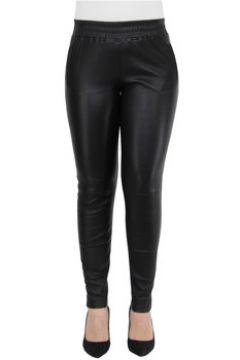 Collants Oakwood Pantalon Energy en cuir ref_cco44010 Noir(98464331)