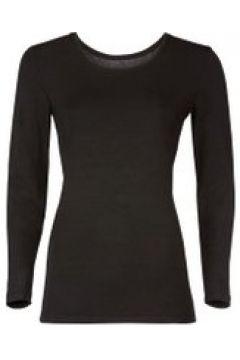 Loungewear Damen Langarmshirt Starlet Schwarz(111521114)