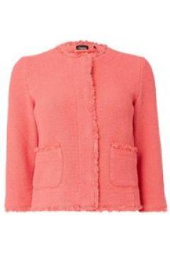 Emme Recinto double pocket short jacket - Coral(110455436)