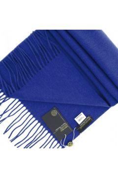 Echarpe Emporio Balzani echape 100% cachemire bleu(88704655)