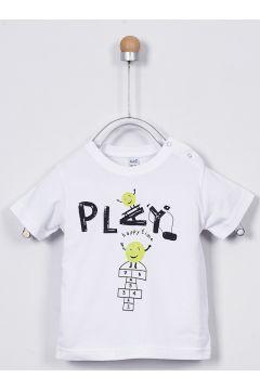 T-shirts Pour Bébé Panço Blanc(109006604)