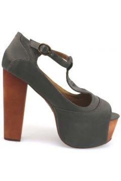 Sandales Jeffrey Campbell sandales gris textile ap665(98485764)
