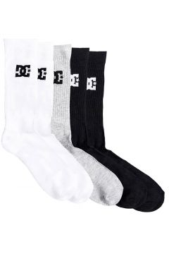 DC Spp Crew 3Pk Socks patroon(109250148)