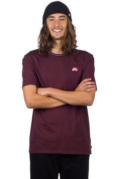 Nike SB Striped Rib T-Shirt rood(85177108)