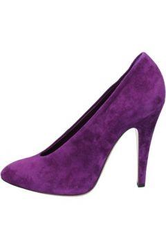 Chaussures escarpins Casadei escarpins pourpre daim az383(98485855)