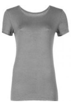 Loungewear Damen T-Shirt Starlet grau melange(111521121)
