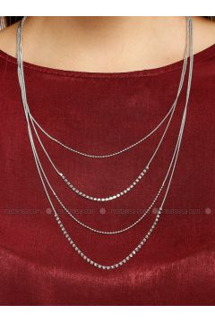 Silver tone - Necklace - Koton(110322176)