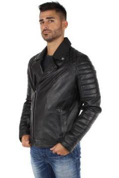 Blouson Daytona Blouson style perfecto en cuir ref_day41887 Noir(115556632)